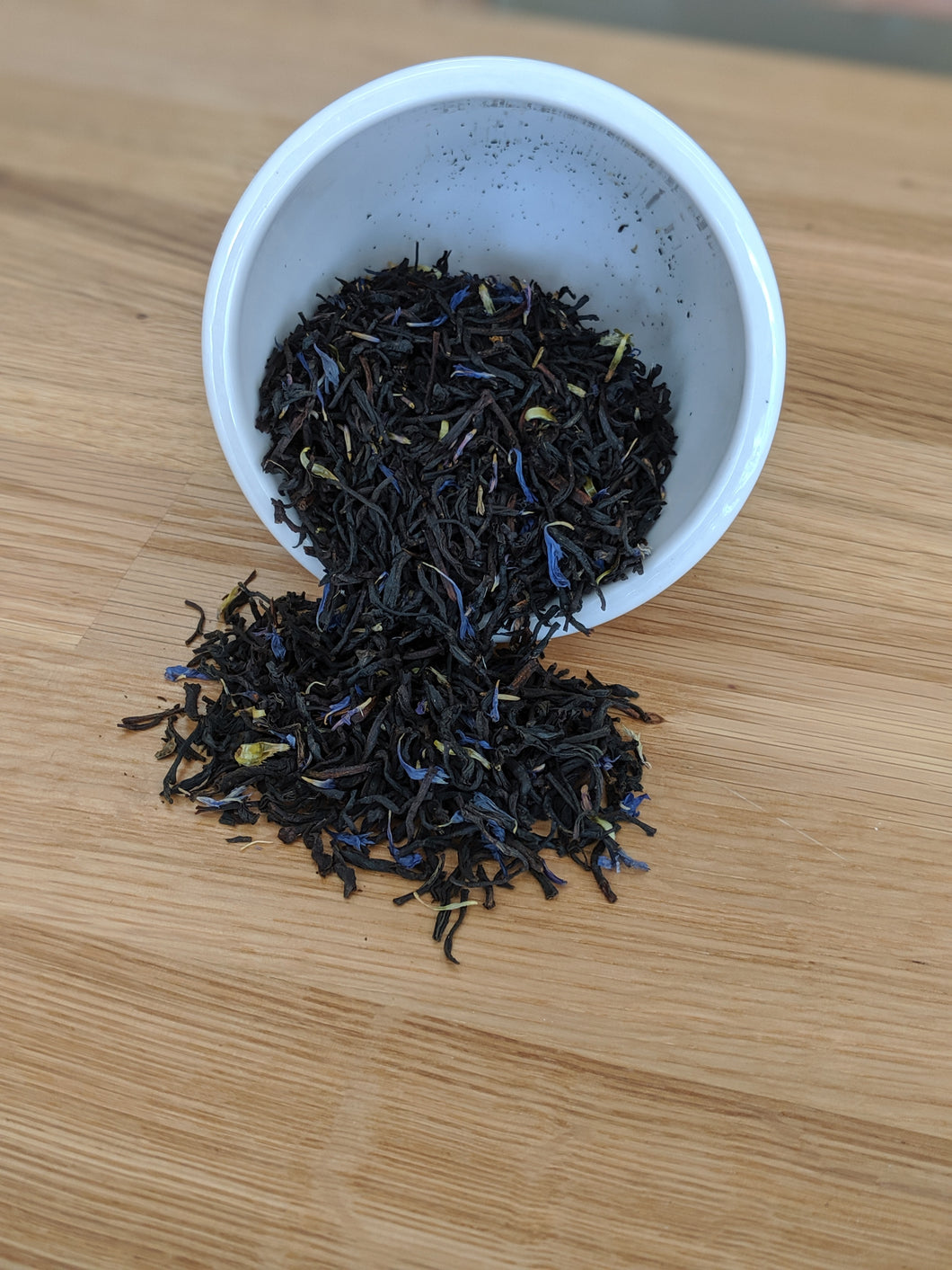 Indian Earl Grey Blue Mallow Blossom Black Tea