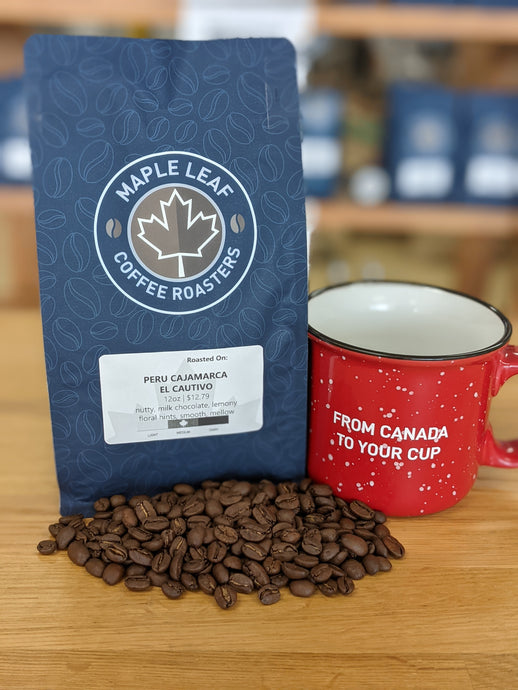 Peruvian Cajamarca El Cautivo (Medium Roast)