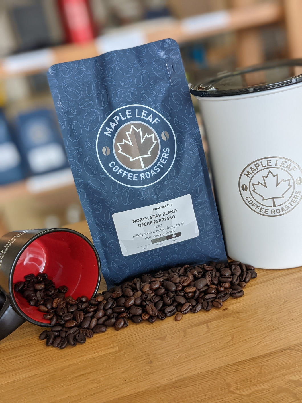 Brand New! North Star Decaf Espresso Blend (Dark Roast)