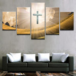 Wall Art Printed Canvas - Christ with the Holy Light