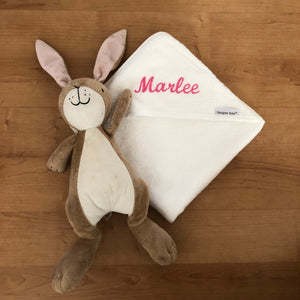 Personalised Bamboo Hooded Towels