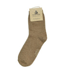 Warm camel wool socks