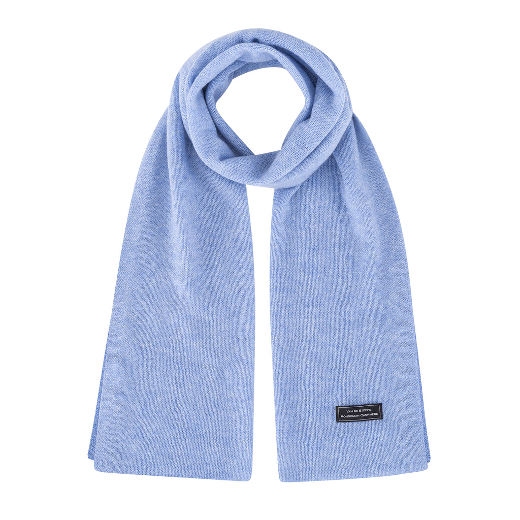 Carpini Knit Scarf (Light Blue)
