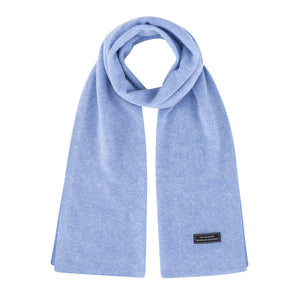 Unisex Knit Scarf (Light Blue)