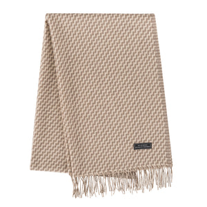 Cashmere Shawl (Brown Checkered)
