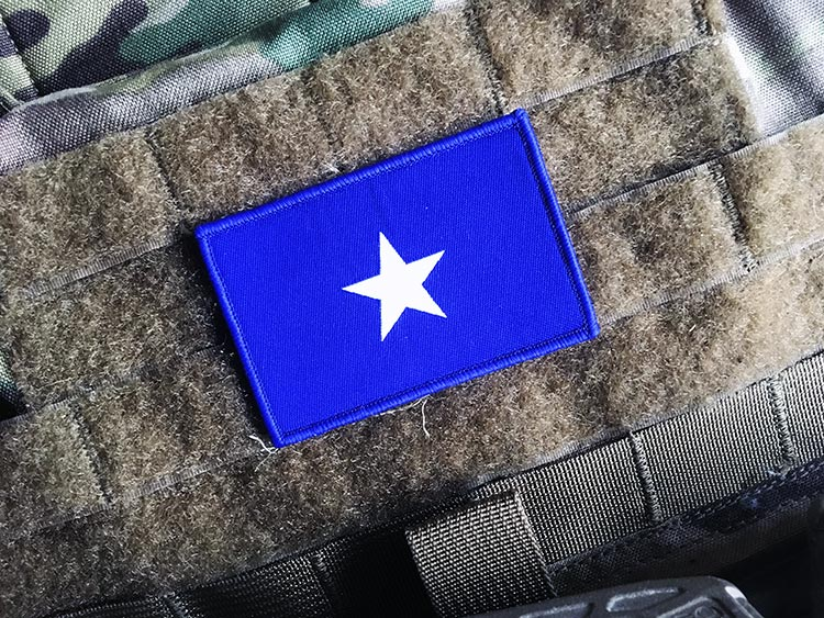 The Lone Star/The Bonnie Blue Morale Patch