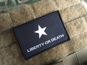 Troutman Lone Star Flag - Liberty or Death