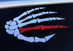War Hand Vinyl Decal