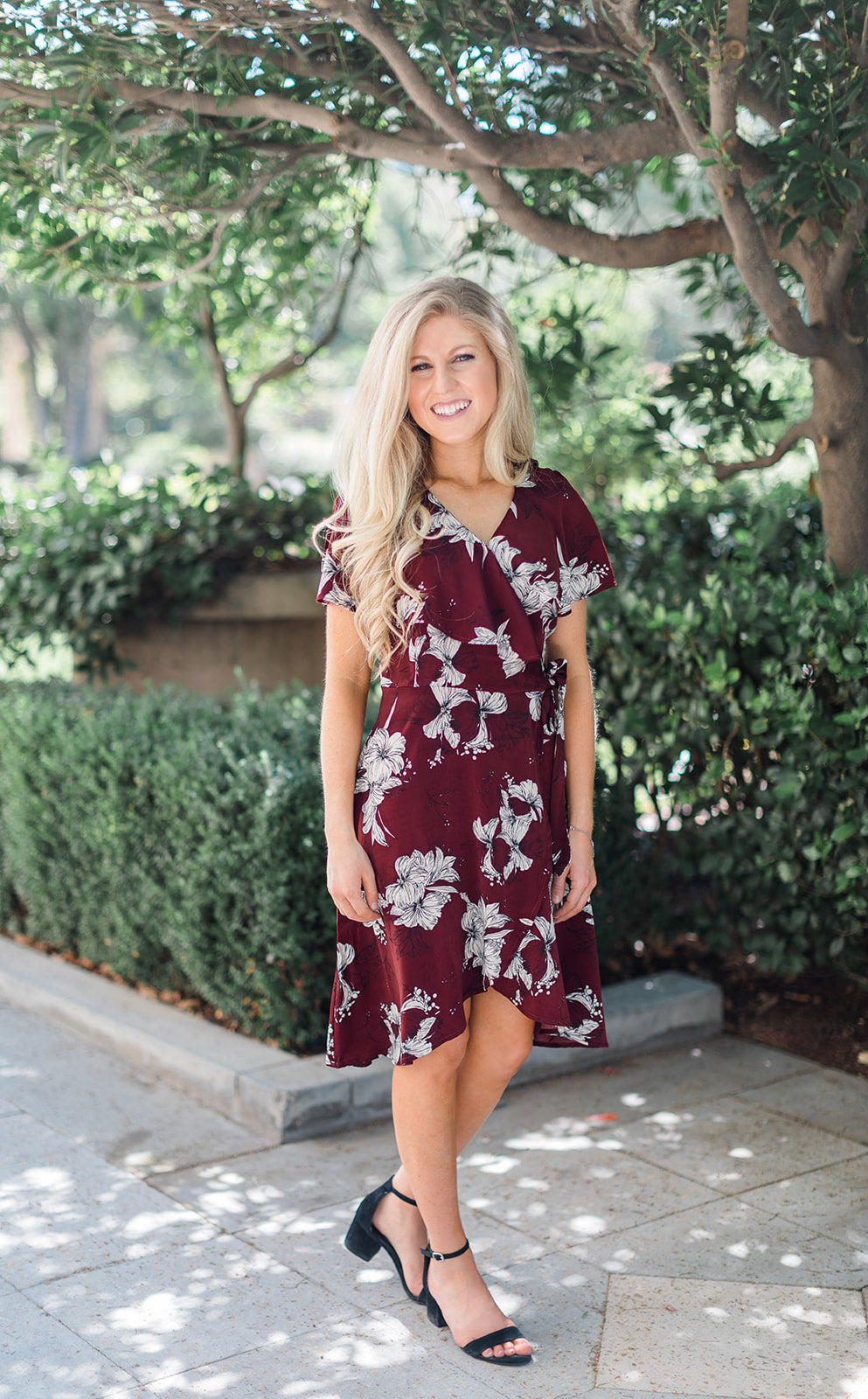 Brooklyn Wrap Dress
