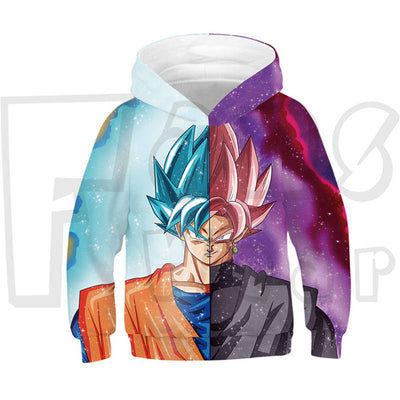 Anime Hoodies - Dragonball Unisex Pullover Sweatshirt Children Hoodie