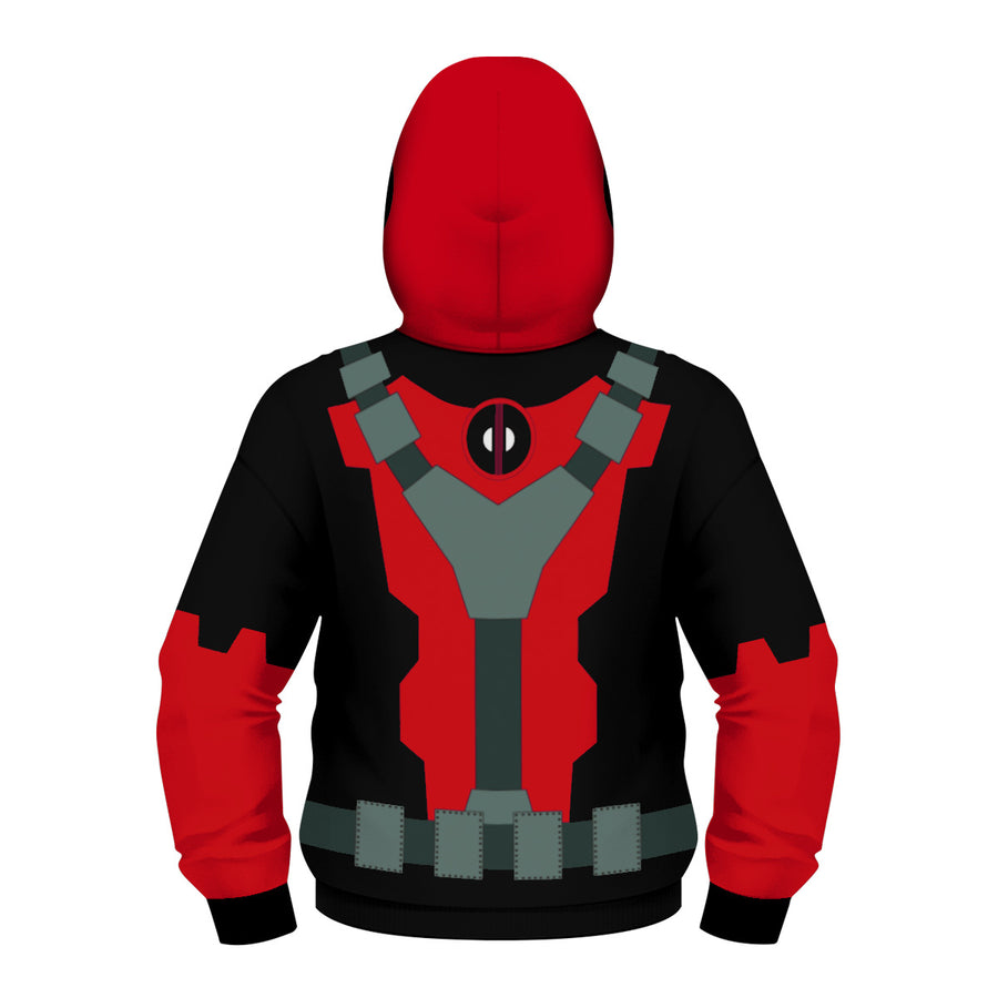 Deadpool Hoodies - Deadpool Children Zip Up Hoodie