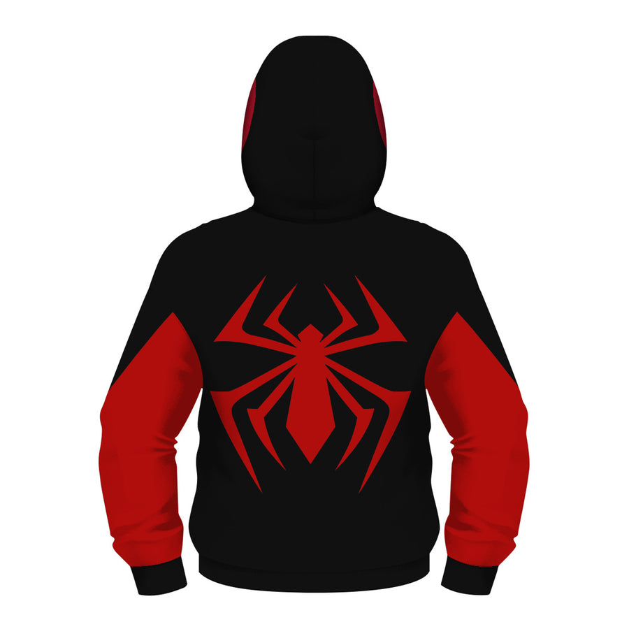 Spiderman Hoodies - Children Spider-Man Zip Up Hoodie