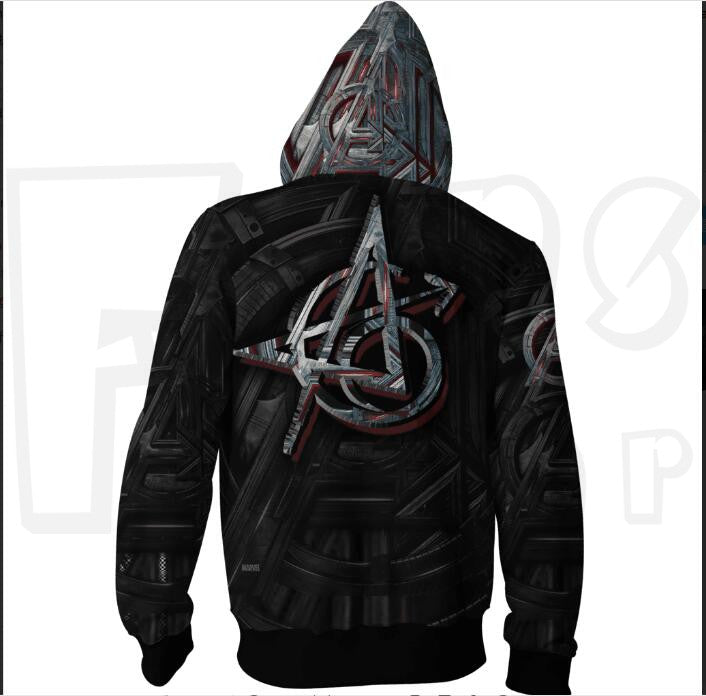 Endgame Assemble Hoodies - Unisex Zip Up Sweatshirt