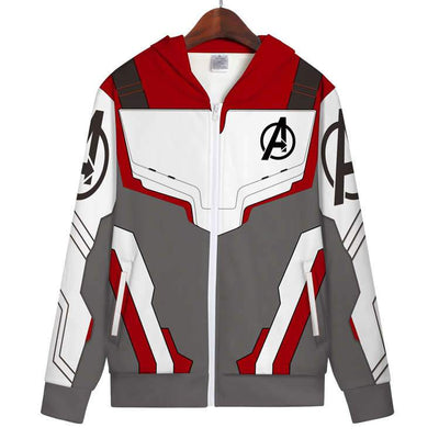 Movie Sweatshirt - The Avengers Unisex Zip Up Hoodie