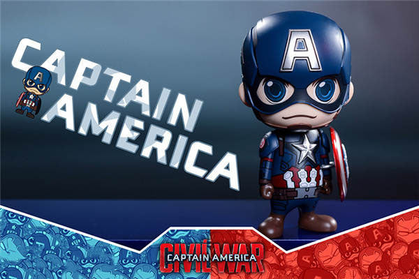 Endgame Superhero Figure - Captain and Stark Mini Figure