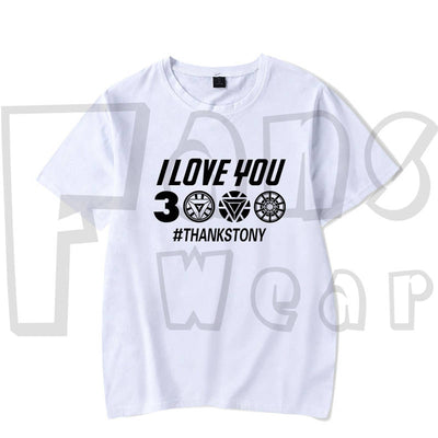 Heroes Assamble T-shirt - I Love you 3000 Times  Unisex T-shirt