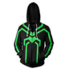 Spiderman Hoodies - Stealth Spider Man Zip Up Hoodie