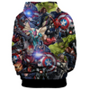 The Avengers - Earth's Heroes Unisex Pullover Hoodie