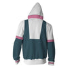 My Hero Academia Hoodies - Ochaco Uraraka Boku No Hero Academia Zip Up Hoodie Sweatshirt
