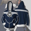Secret Avengers Hoodies - Secret Avengers CA Cosplay Zip Up Hoodie