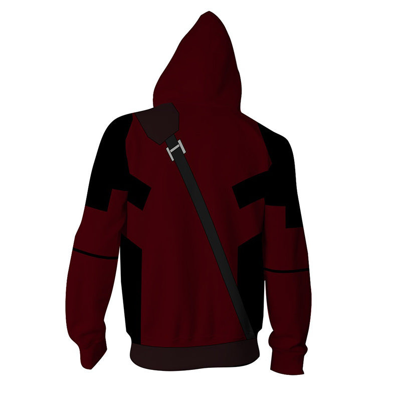 Deadpool 2 Hoodies - Marvels Most Loved Hero Deadpool Zip Up Hoodie