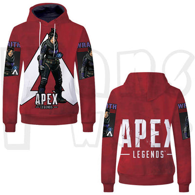 Batttle Gaming - Apex Legend Unisex Pullover Hoodie - 2