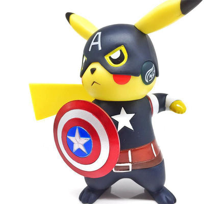 Marvel - Deadpool Pokemon Pikachu Figure