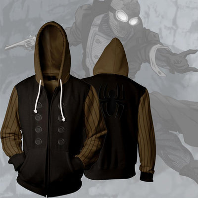 Spiderman Sweatshirt - Armored Spider Man Zip Up Jacket