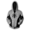 Spiderman Hoodies - Armored Spider Man Zip Up Hoodie