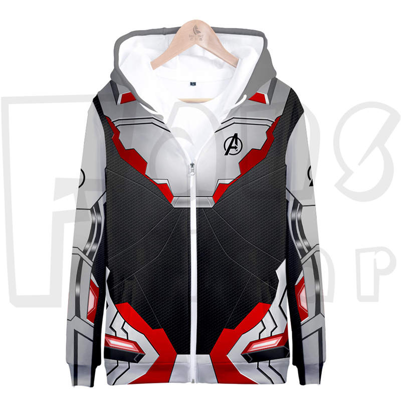 Avengers Endgame QUANTUM REALM Suit - Heroes Unisex Pullover Hoodie