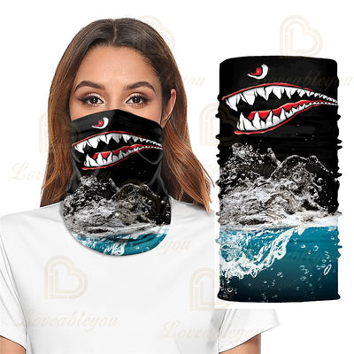 Venom Bandana Shiled Balaclava Cycling Tube Scarf Headwear Bicycle Headscarf