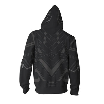 Marvel Black Panther Cosplay 3D Printed Sweatshirts