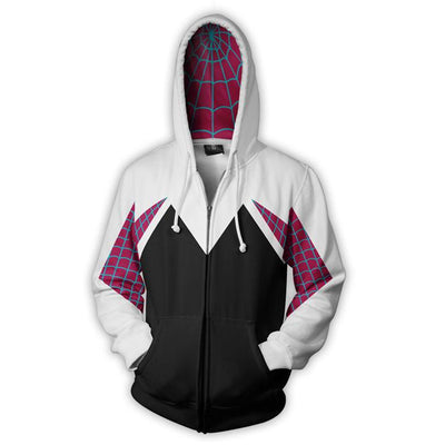 Marvel Superhero Women Spider 3D Printed  Cosplay Sweatshirt