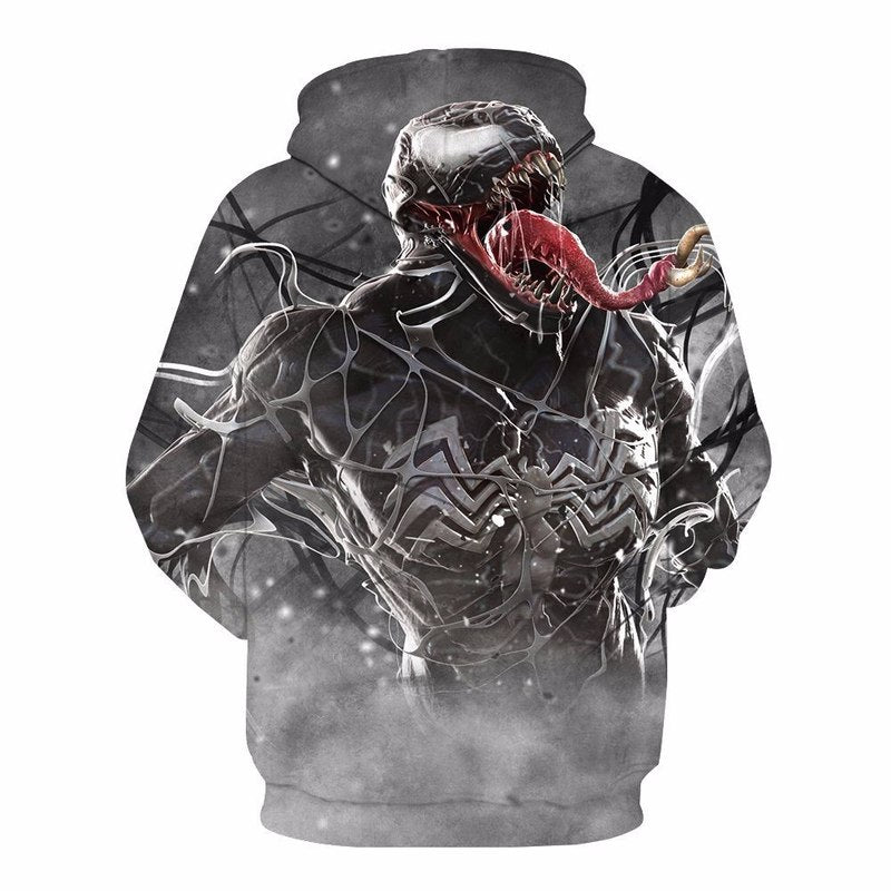 Venom Cosplay Men Hoodie for Fans