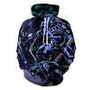 Black Panther - Superhero  Black Panther Cosplay Men Hoodie