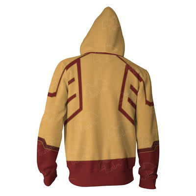 The Flash Hoodies Justice League The Flash Zippe Sweatshirt
