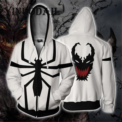 Marvel Venom 3D Hoodies for Men Sweatshirt