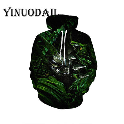 Black Panther - Superhero Black Panther Men 3D Printed Hoodie