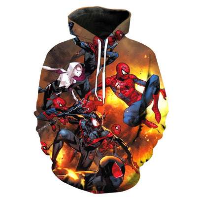 Venom Cosplay Hoodies Sweatshirt for Marvel Movie Fans