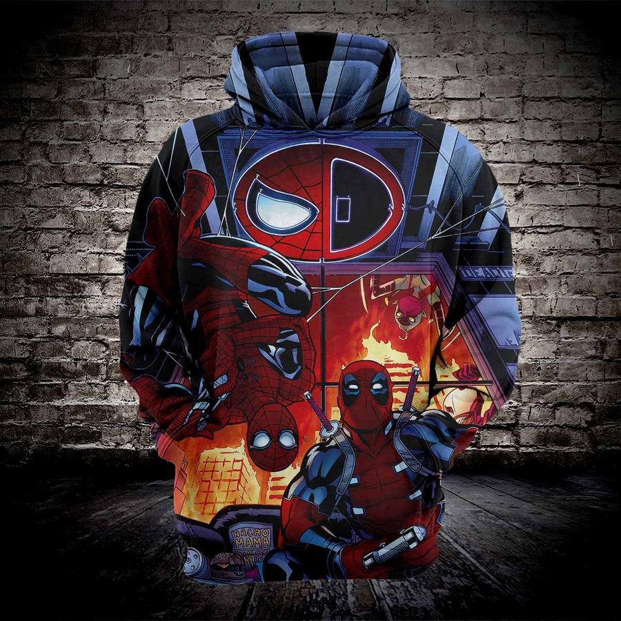 Venom Cosplay Hoodies Men Sweatshirt for Marvel Movie Fans