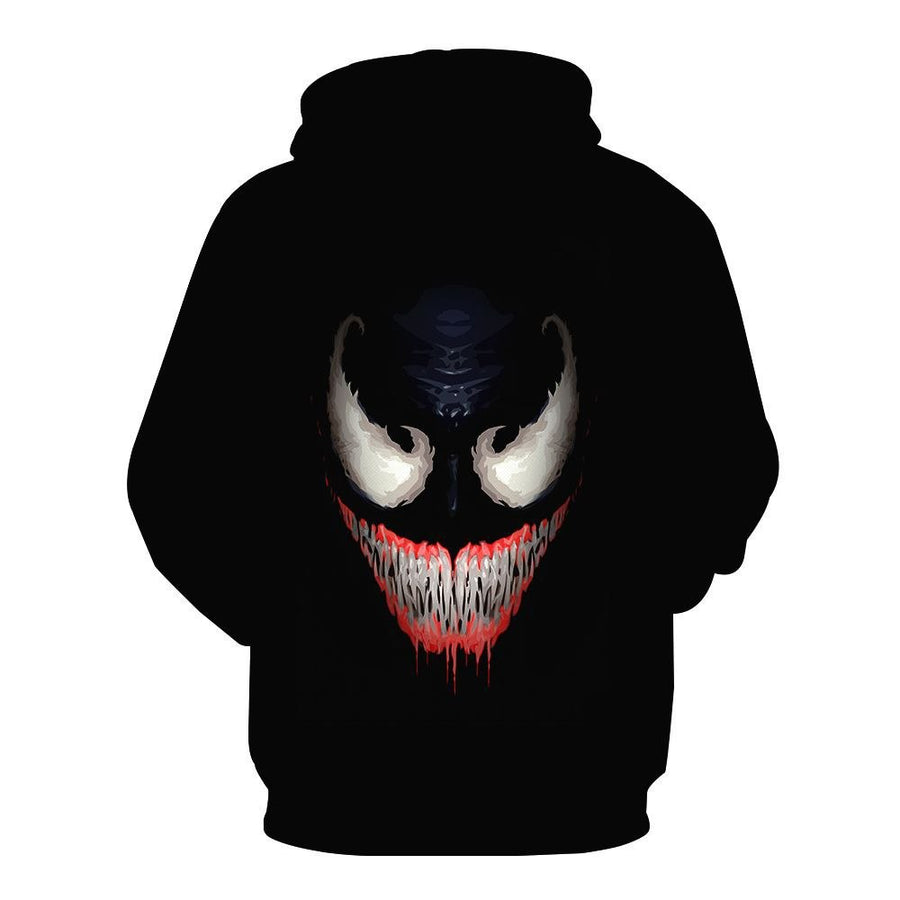 Venom 3D Hoodies for Marvel Movie Fans