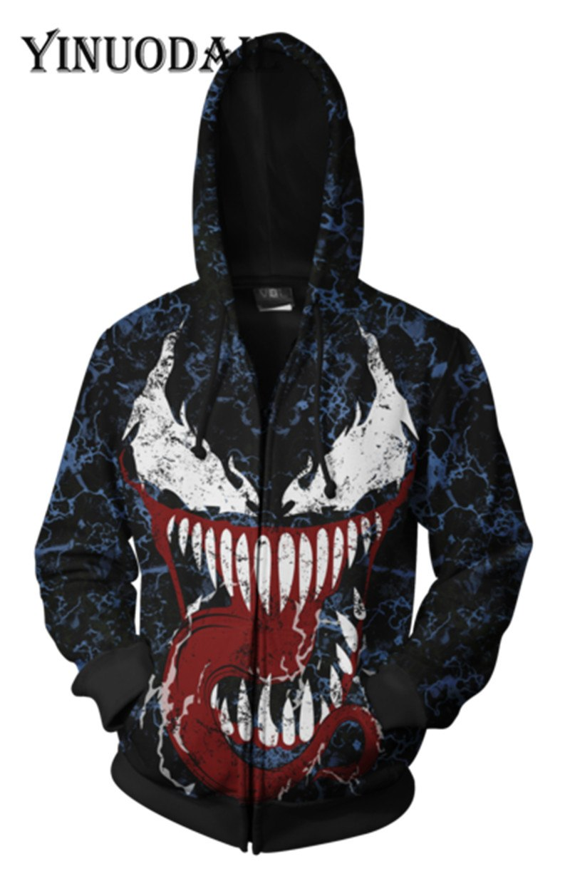 Marvel Venom - 3D Hoodies for Women & Men Sweatshirt