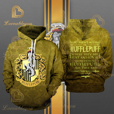 Wizardry -  HUFFLEPUFF Unisex Pullover Hoodie