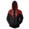 Spiderman Hoodies - Armored Spider Man Zip Up Jacket