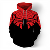Spider-Man 3d Digital Printed Casual Hoodie