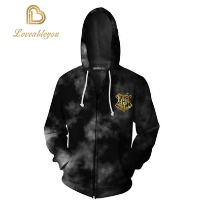 The Wizardry - Hogwarts Unisex Zip Up Hoodie