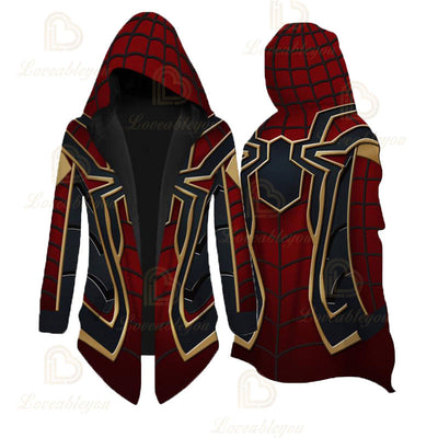 Limited Edition The Avengers - Iron Spider Cosplay Cloak