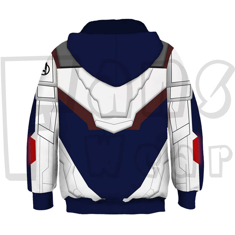 Avengers Endgame Quantum Realm Battle Suit Children Hoodie