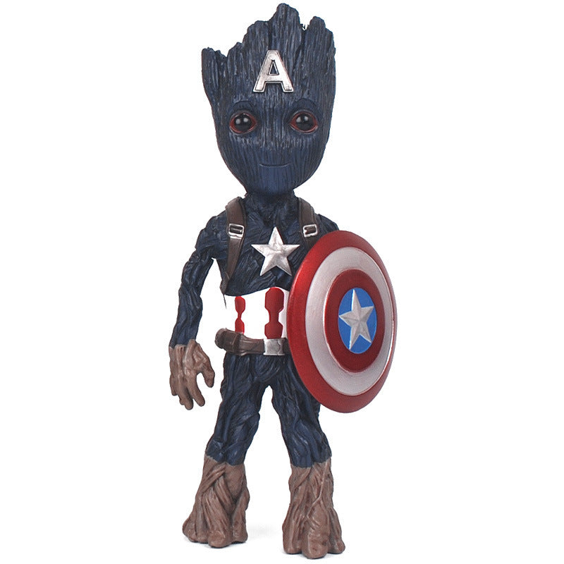 Endgame Superhero Figure - Groot Mini Figure