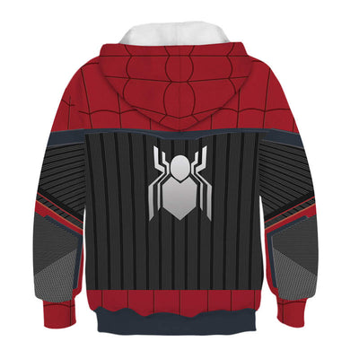Spider-Man 2 Far from Home Family Unisex Pullover Sweatshirt Children Hoodie